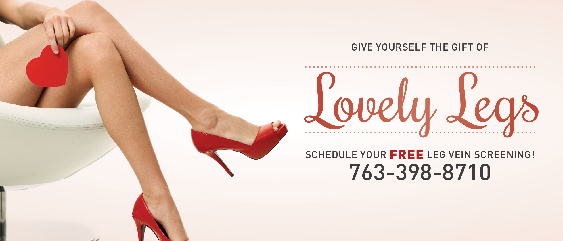 Schedule your free leg vein screening