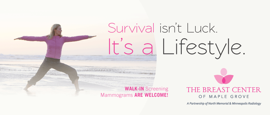 Schedule your screening mammogram